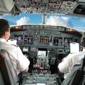 pilots cockpit